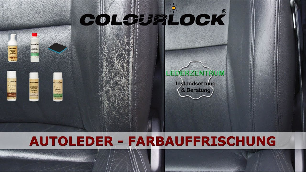 Autositz Leder Lackieren Car Leather Cleaning Colour Repair Care Leather Fresh