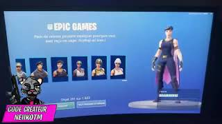 'NEW BUG' DÉBLOQUER ALL FORTNITE GAME SKINS -BUG - PS4/ONE/SWITCH/PC/MOBILE
