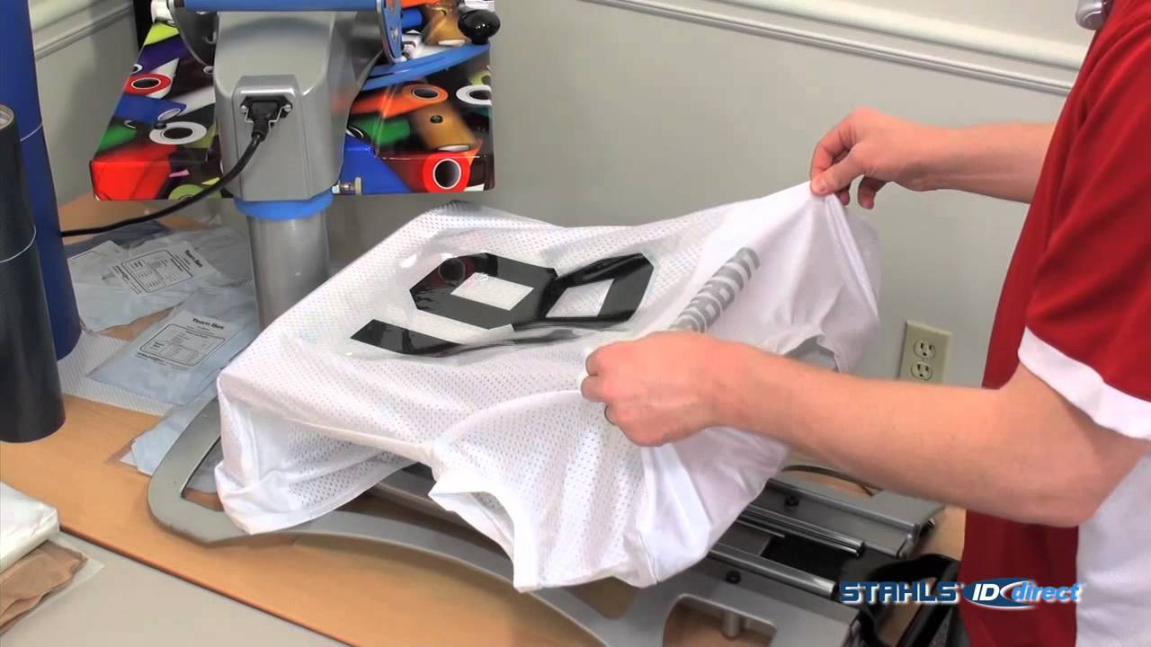 c6dbd738a22 Decorating Football Jerseys - YouTube