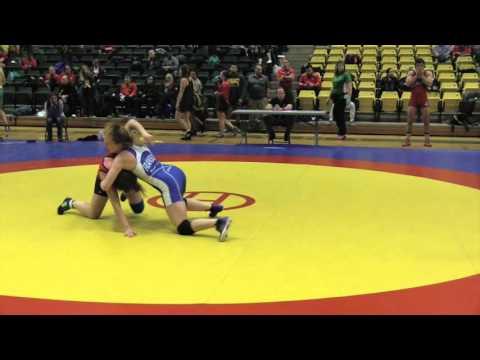 2016 Golden Bear Open: 55 kg Final Kate Richey vs. Hannah Franson