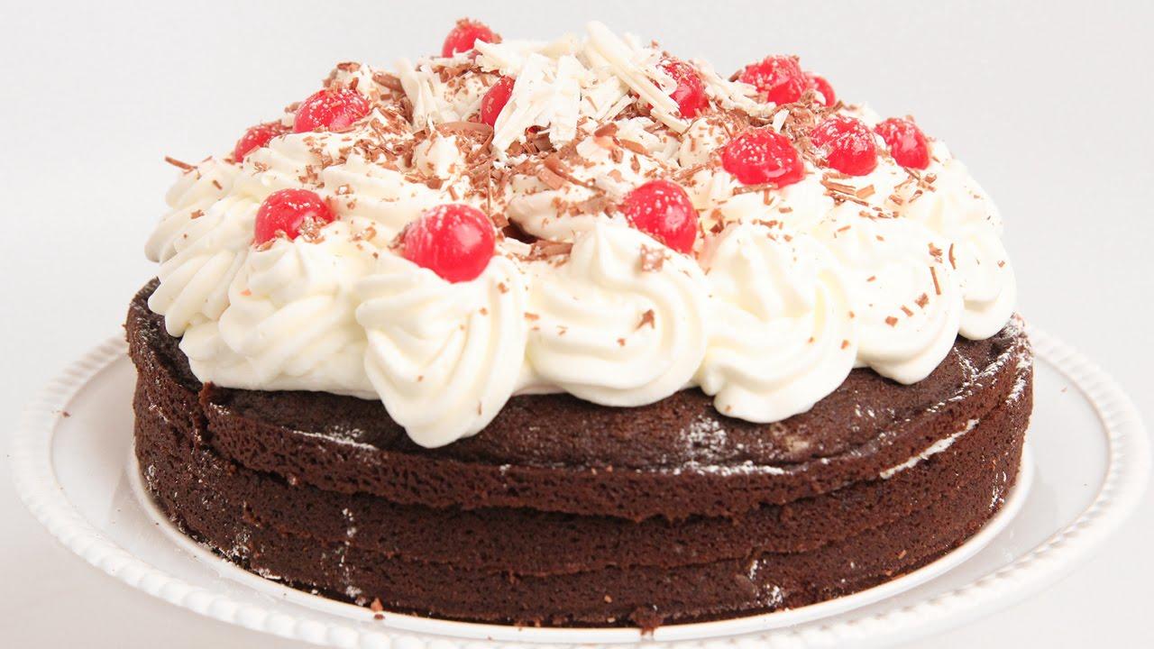 Black Forest Cake Recipe - Laura Vitale - Laura in the Kitchen ...