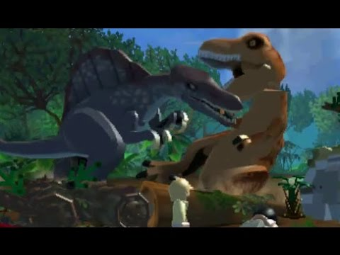 LEGO Jurassic World (3DS/Vita) - 100% Guide - Jurassic Park III (Stages 19-27)