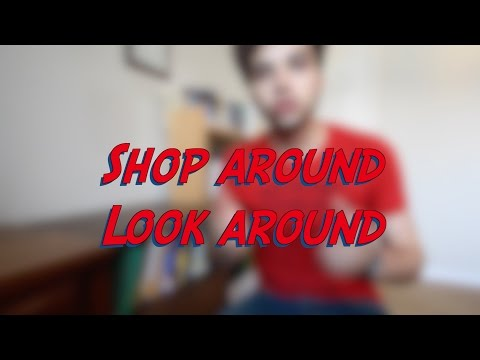 Shop around - Look around - W16D3 - Daily Phrasal Verbs - Learn English online free video lessons