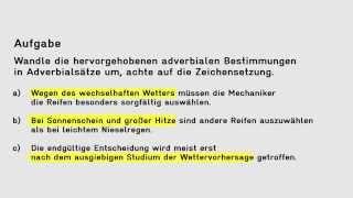Adverbialsatze Version 1 1 Youtube 9