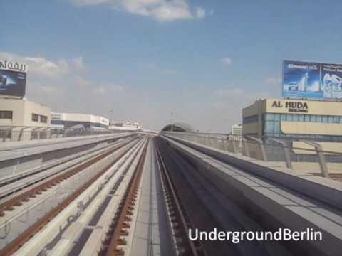 Dubai Metro - Deira City Center to Airport Terminal 3