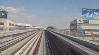 Dubai Metro - Deira City Center to Airport Terminal 3