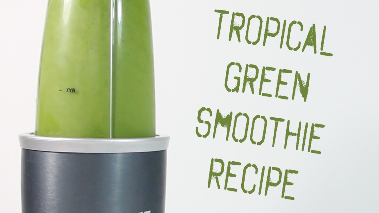 Tropical Green Juice Recipe — Dishmaps