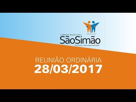 REUNIAO ORDINARIA 28/03/2017