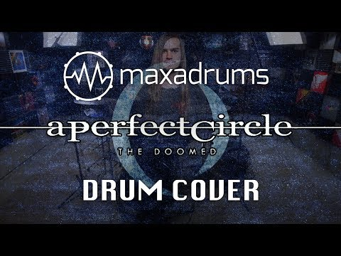 NEW! A PERFECT CIRCLE   THE DOOMED Drum  + Transcription  Sheet Music