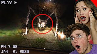 CREEPIEST Things SPOTTED On DASHCAM.. Ft. Kiera Bridget
