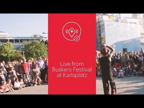 VIENNA/NOW Live: Buskers Festival at Karlsplatz