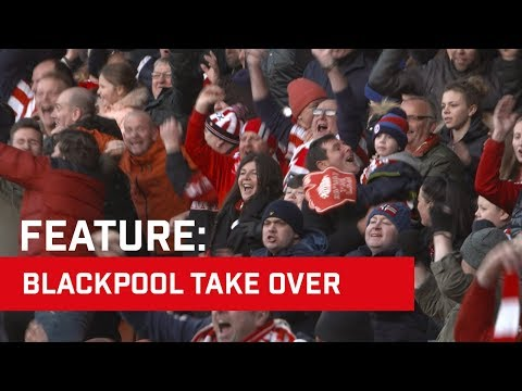 Red & White Army Take Over Blackpool