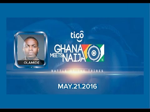OLAMIDE - FULL LIVE PERFORMANCE AT TIGO GHANA MEETS NAIJA