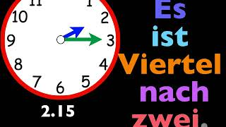 Let's Learn German! Lesson 17, the quarter hour
