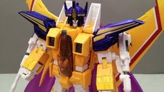 TRANSFORMERS MASTERPIECE SUNSTORM TAKARA MP11S TOY REVIEW