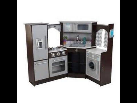 Putting Together The Kidkraft Ultimate Corner Kitchen Youtube