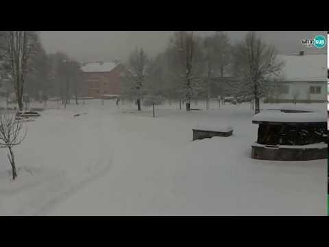 Korenica - Plitvička jezera - snijeg, 3.02.2018.