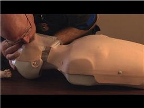 First Aid : CPR Rescue Breaths