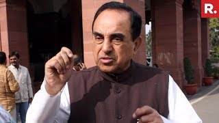 Dr Subramanian Swamy Reacts To SC Rafale Verdict | #ModiWinsOnRafale