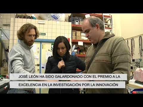 José Ignacio León,  Premio Losada Villasante a la Investigación en Innovación