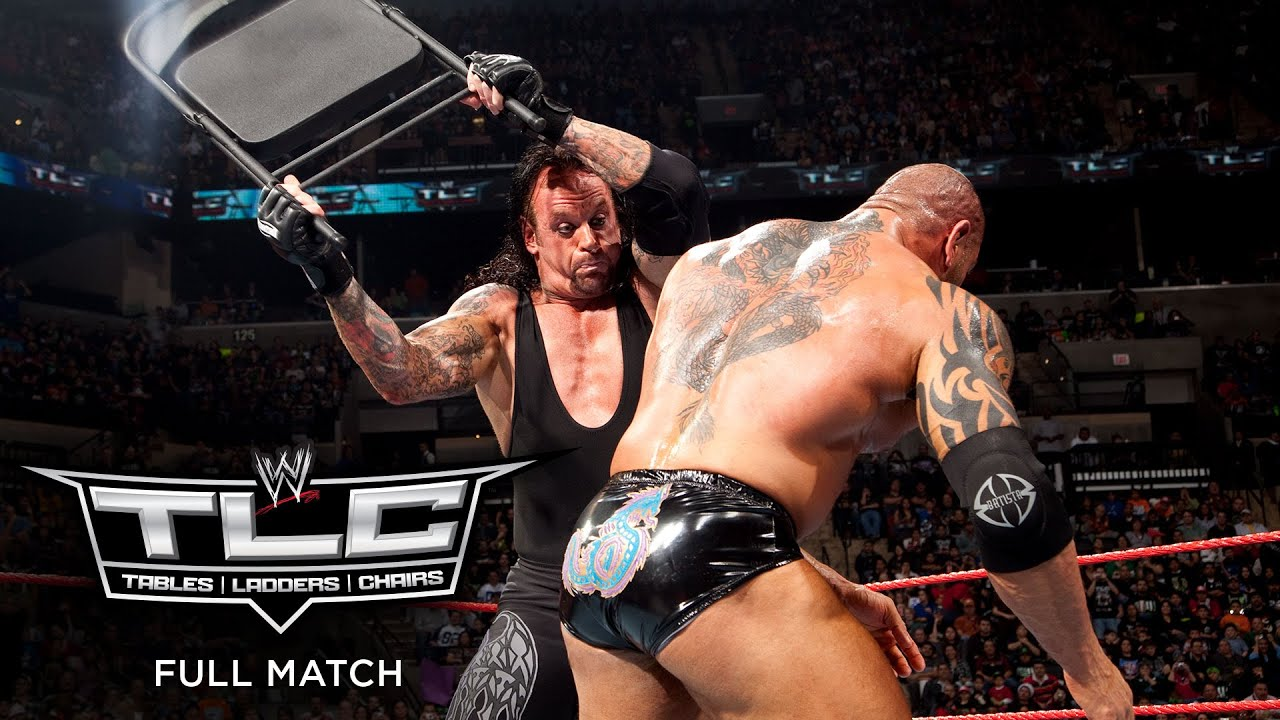 Download FULL MATCH - Undertaker vs. Batista – World Heavyweight Championship Chairs Match: WWE TLC 2009