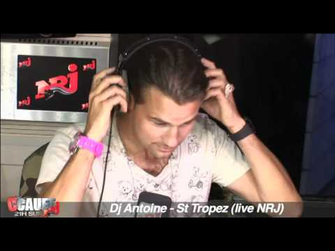 Dj Antoine - St Tropez - Live - C'Cauet sur NRJ