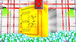 TOP SECRET BANK VAULT IN MINECRAFT!