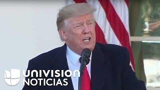 En vivo: Trump hace un anuncio sobre el cierre de gobierno