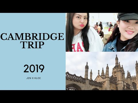 Cambridge Trip 2019 - Jennalyn