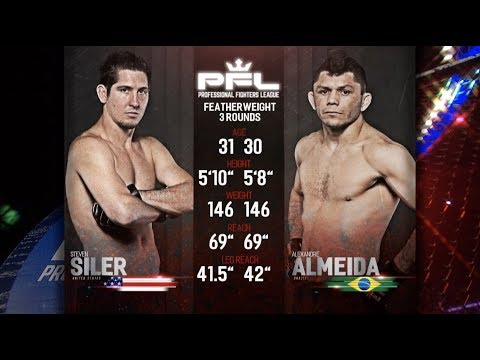 PFL Full Fight Friday: Steven Siler vs. Alexandre Almeida from PFL Playoffs: New Orleans
