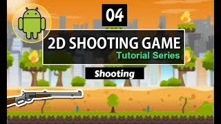 unity 2d shooter game tutorial  (Shooting A bullete) 04