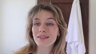 HOW I STYLE M¥ HAIR *shag cut and curtain bangs