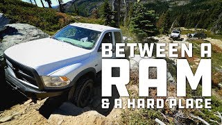 Between a Ram and a Hard Place: Power Wagon stuck on the way out of Snake Lake