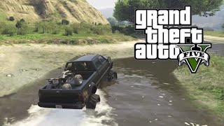 GTA 5 - Mudding and Hauling Four Wheeler