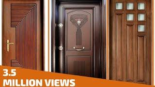 Top 35 Modern Wooden Door Designs for Home 2018- Plan N Design