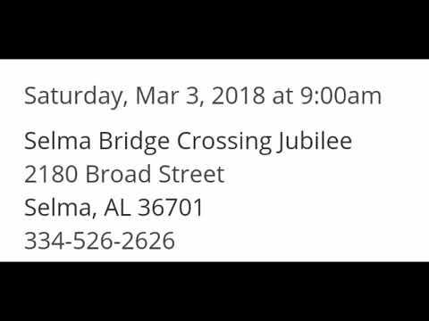 Selma Alabama Jubilee Parade (2018) Starts At 9am Today\Battle Of Bands Starts At 1pm
