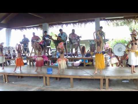 Cook Islands Cultural Show at Rarotonga Punanga Nui Market