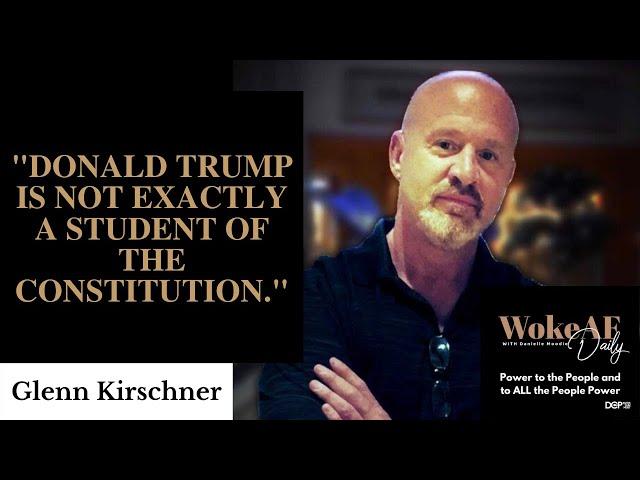 Can Trump Shut Down Social Media? w/ Glenn Kirschner - WokeAF Daily