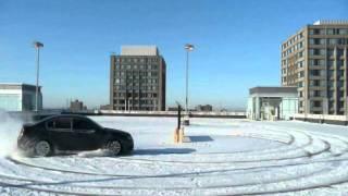 2010 Subaru Legacy Snow Fun