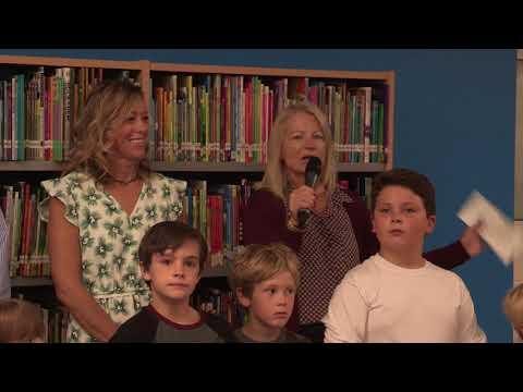 Frisco Elementary, New Media Center Ribbon Cutting Speeches