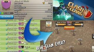 BEST CLAN EVER!?+17 Win War Streak|Clash of Clans|