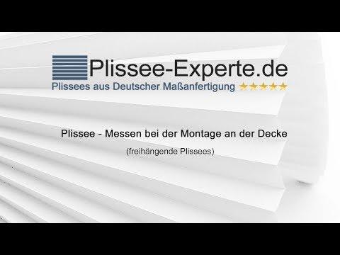 Sehr Plissee Messen: Fenster Richtig messen! Plissee-Experte.de XQ65