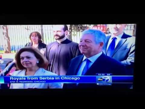 Their Royal Highnesses Crown Prince Alexander and Crown Princess Katherine Visit Chicago