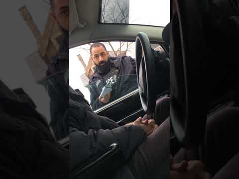 Arabic cop vs Romulus Descendant London Ontario