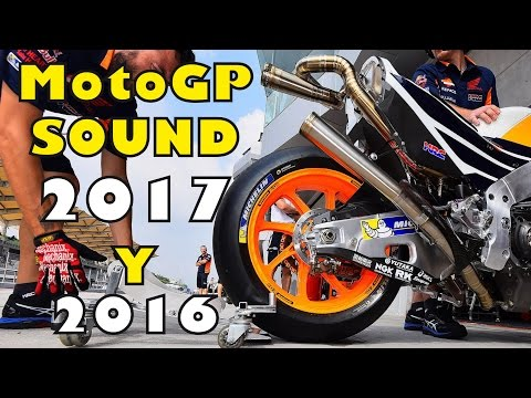 MOTOGP 2017+2016 Start Engine Sound Compilation PART 4 (HONDA, YAMAHA, SUZUKI,...)