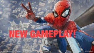 LETS TALK ABOUT THE NEW SPIDER-MAN PS4 GAMEPLAY