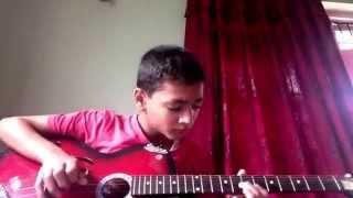 Yo man ta mero nepali ho(1974 AD) guitar lesson :-