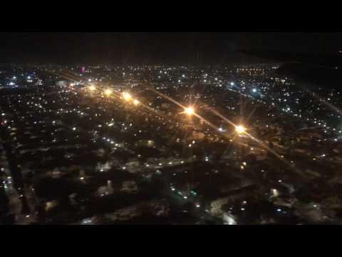 Mexico City landing 4K