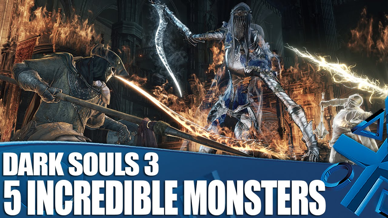 dark souls 3 ps4 gameplay 5 monsters that prove dark. Black Bedroom Furniture Sets. Home Design Ideas