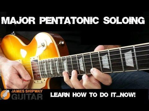 Major Pentatonic Scale -Easy Guitar Soloing in a Major Key